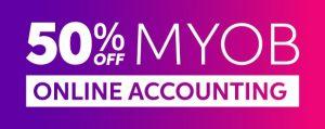 50% off myob